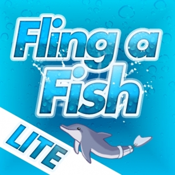 Dolphin Tale: Fling a Fish Lite