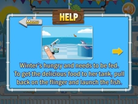 Dolphin Tale: Fling a Fish Lite