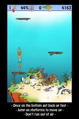 Doodle Jump, Surf & Dive