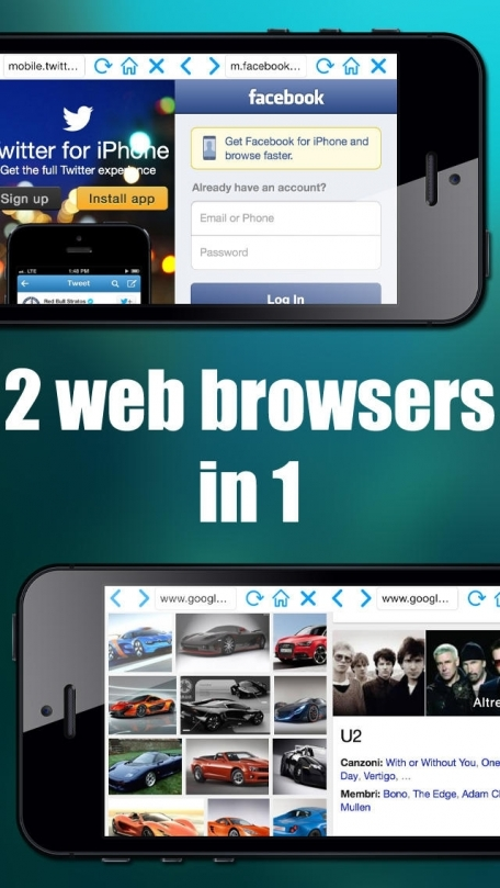 Double Browser Pro for iOS 7