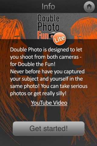 Double Photo Fun Lite - Take Photos and Video with Both Cameras at Once!