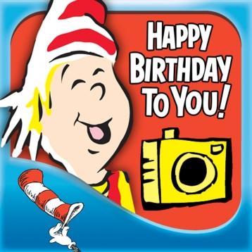 Dr. Seuss Camera - Happy Birthday Edition
