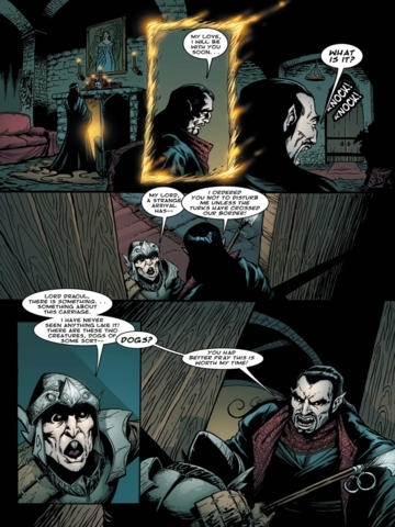 Dracula VS King Arthur Comics