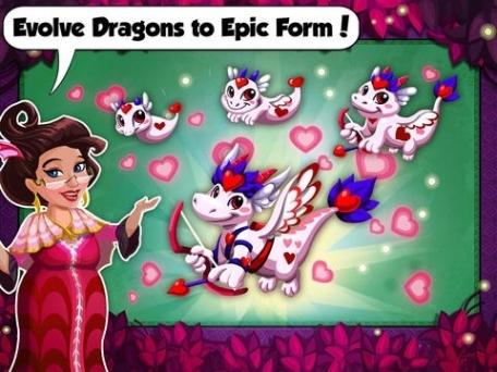 Dragon story valentines