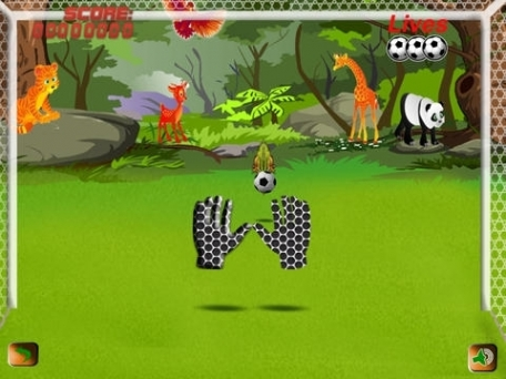 Dragons Soccer Goalie: Rush Magic HD, Free Game