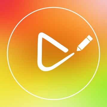 Draw on Video Square FREE - Paint and Drawing Funny Doodles Captions Colors Handwriting and Shapes on Videos for Instagram.