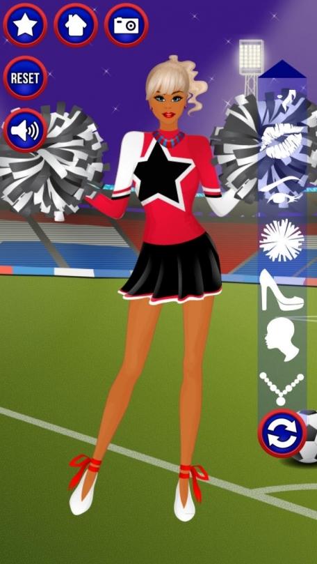 Dress-Up Cheerleader
