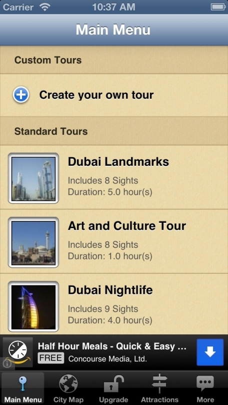 Dubai Map and Walks