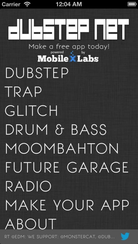 Dubstep Music Radio -  Dubstep .Net Mixer Electro Playlists