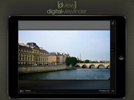 D•View : Digital Viewfinder for Cinematography