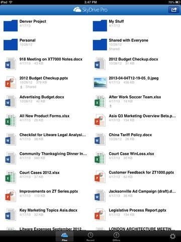SkyDrive Pro for business