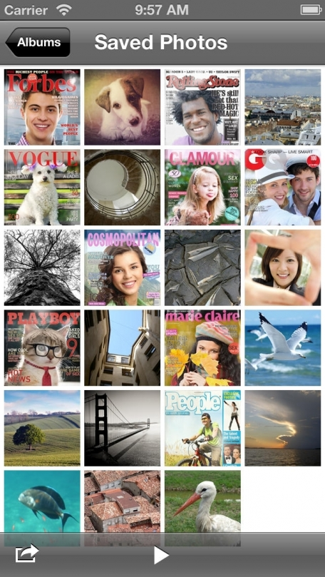 CoverCam - get on the cover of a popular magazine using your camera! Forbes, Cosmopolitan and Vogue are waiting for you!