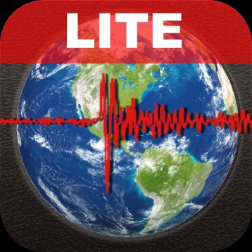 Earthquake Lite - International reporting, maps, & sharing of world earthquakes