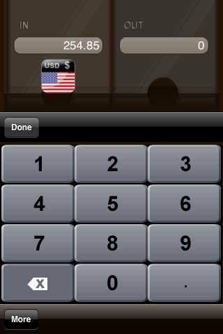 Easy Currency Exchange (Big Keyboard)