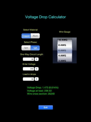 Electric Toolkit - Top selling app for Electrical Wiring Diagrams, including 3-way and 4-way Switches - Audio Video Pinouts and Basic Calculators for NEC, Ohms Law, and Circuit Breaker Sizing