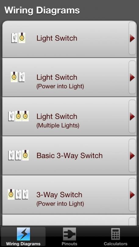 Electric toolkit top selling app for electrical wiring diagrams electric toolkit top selling app for electrical wiring diagrams including 3 way and keyboard keysfo Gallery