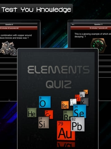 Elements Quiz - Periodic Table Picture Questions