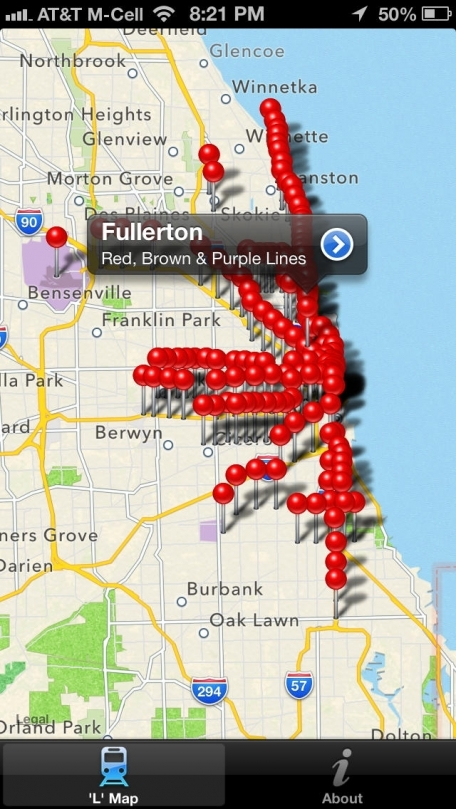 Elevated – The Dead Simple L Train Tracker for Chicago's CTA