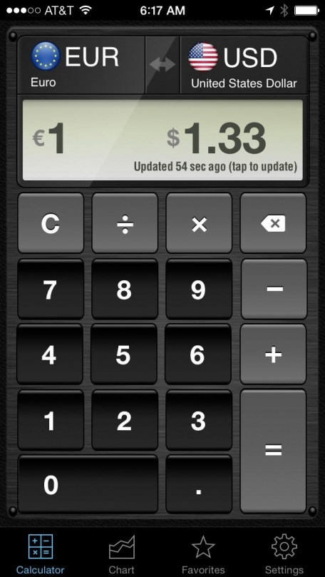 Currency Converter HD: converter + money calculator with exchange rates for 150+ foreign currencies (convert Dollars, Euros and many more!)
