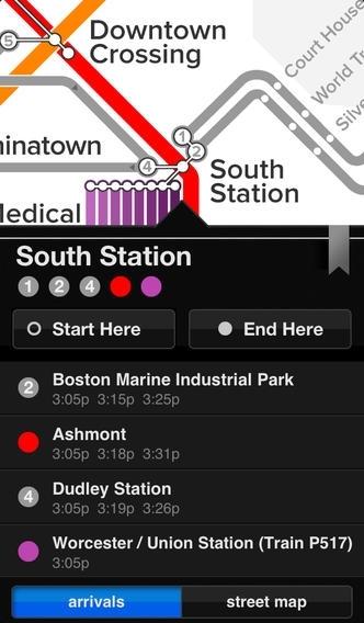 Embark Boston T – MBTA by Embark