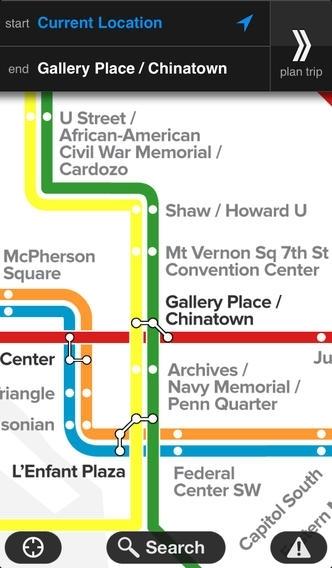 Embark DC Metro