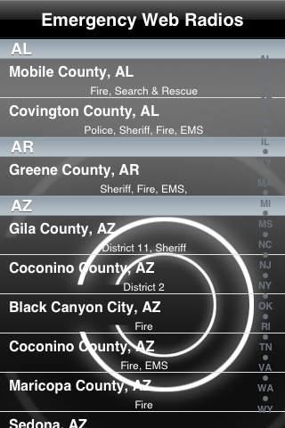 Emergency Web Radio