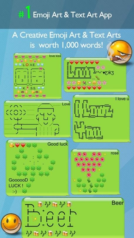 Emoji Art Text Picture Emoji Art Text Picture Pro