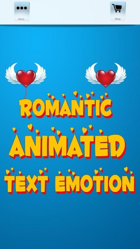 Emoji Romantic - Animated Romantic Text Emoticons