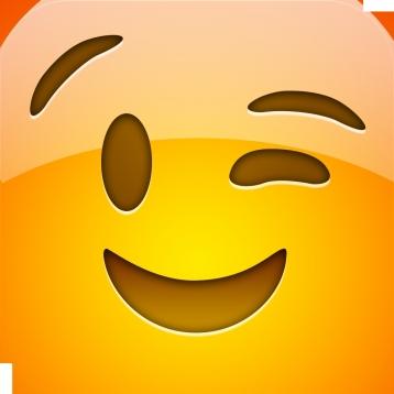 Rabbit Smiley-Face Emoji