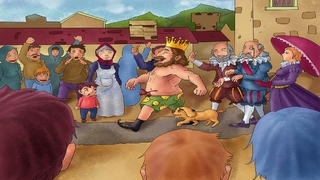 Emperor's New Clothes - bedtime fairy tale Interactive Book iBigToy