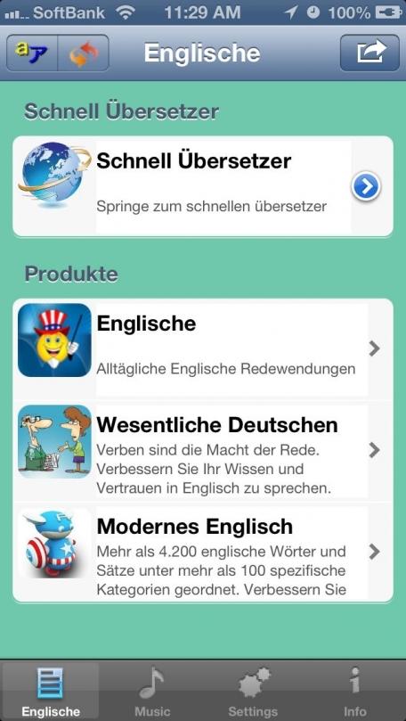 Englisch - German to English - Talking Translator and Phrasebook
