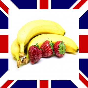 English Words: Fruits and Vegetables