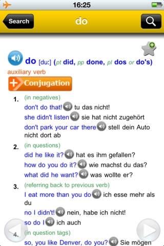 English-German Larousse dictionary