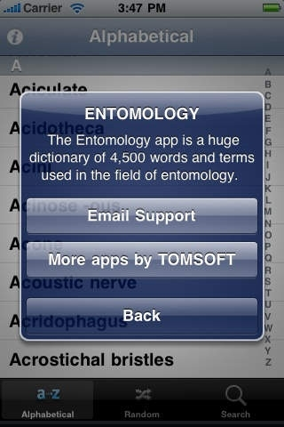 Entomology Dictionary