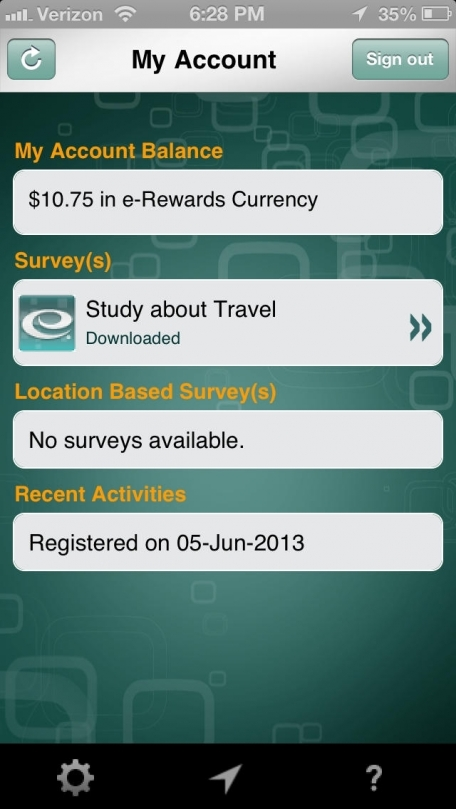 e-Rewards Mobile