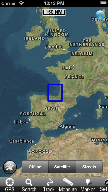 Euskadi - Nautical Chart GPS