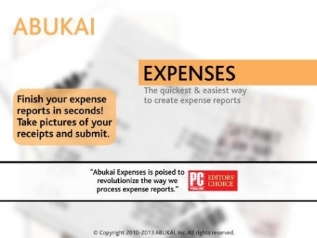 Expense Reports, Receipts, Invoices & Business Expenses with ABUKAI