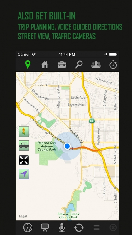 Extra Mile - Voice Navigation with GPS Trip and Mileage Log