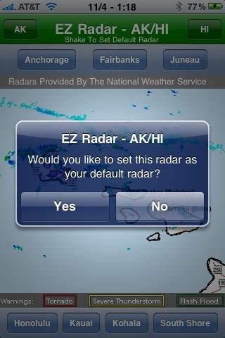 EZ Radar - AK/HI