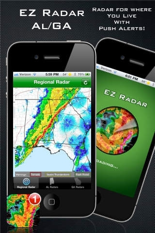 EZ Radar - AL/GA
