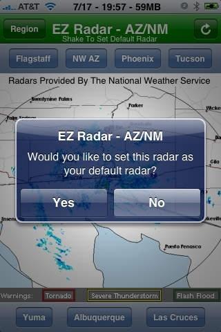 EZ Radar - AZ/NM