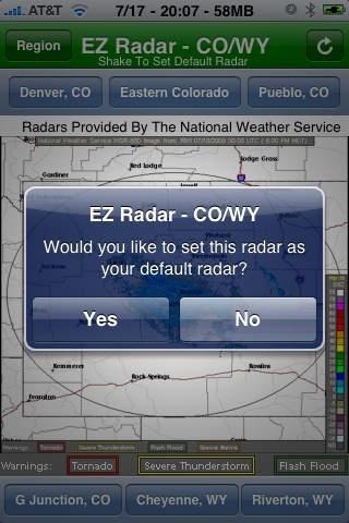 EZ Radar - CO/WY