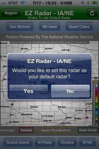 EZ Radar - IA/NE