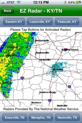 EZ Radar - KY/TN