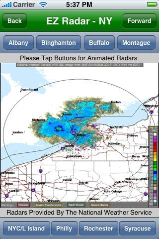 EZ Radar - NY/NJ