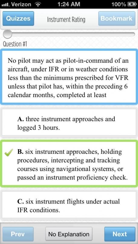 FAA Exams