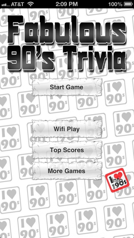 Fabulous 90's Trivia