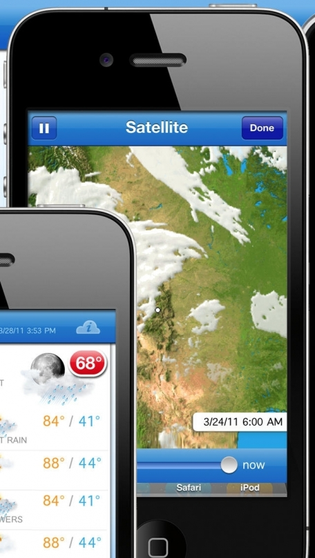 Fahrenheit Free - Weather and Temperature on your Home Screen