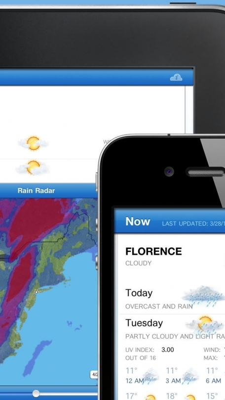 Fahrenheit - Weather and Temperature on your Home Screen