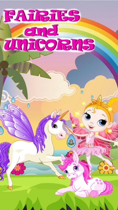 Fairies and Unicorns - Play Tag in The Magical Kingdom